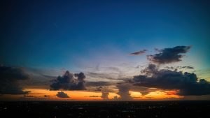 Rich Red Sunset - Redland Coconut Palm Estates